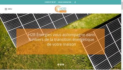 Site internet de H2R Energies