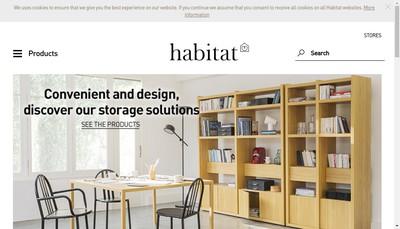 Site internet de Habitat Online