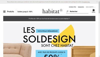 Site internet de Habitat