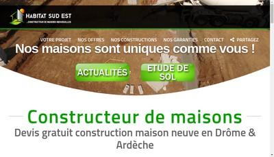 Site internet de Habitat Sud Est
