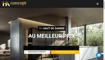 Site internet de Ha Concept