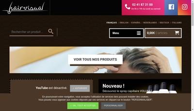 Site internet de Hairvisual