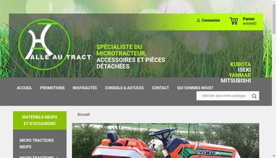 Site internet de Halle au Tract