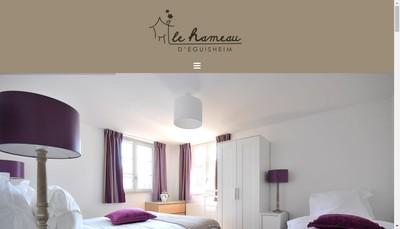 Site internet de Le Hameau d'Eguisheim