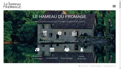 Site internet de SARL le Hameau du Fromage