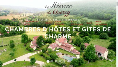 Site internet de Le Hameau du Quercy