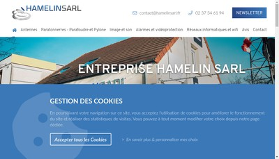 Site internet de Hamelin