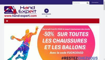 Site internet de Le Vestiaire