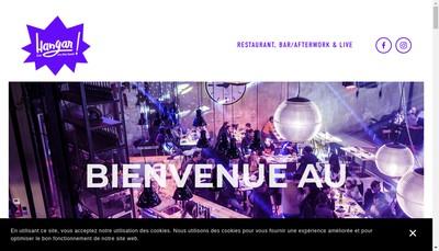 Site internet de Hangar 21