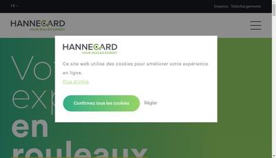 Site internet de Hannecard France