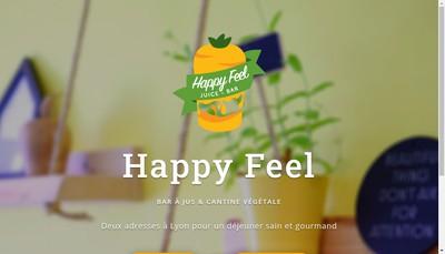 Site internet de Happy Feel