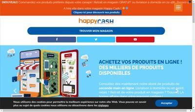 Site internet de Happy Cash