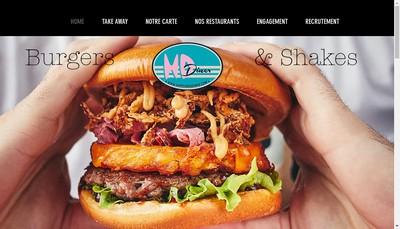 Site internet de Hd Diner