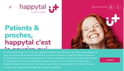 Site internet de Happytal