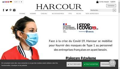 Site internet de Harcour