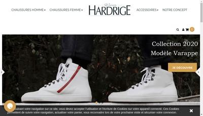 Site internet de Chaussures Hardrige