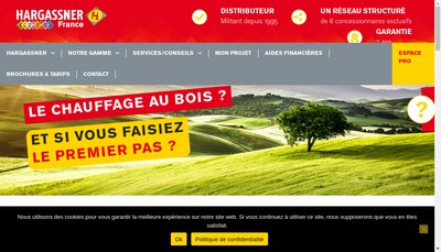 Site internet de Hargassner France