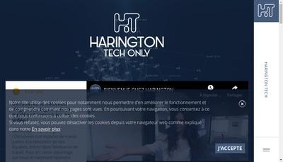 Site internet de Harington Technologies
