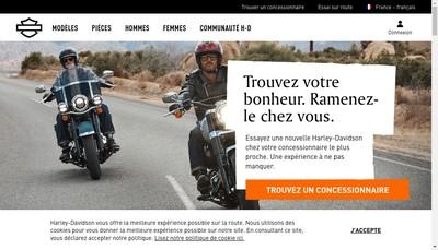 Site internet de Buell