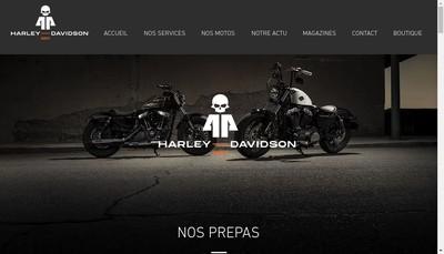 Site internet de Harley-Davidson Nantes