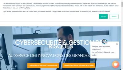 Site internet de Harmonie Technologie