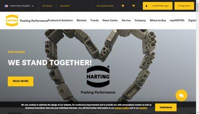 Site internet de Harting France