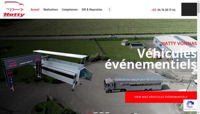 Site internet de Hatty Vonnas