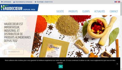 Site internet de Haudecoeur