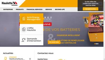 Site internet de Haulotte Services
