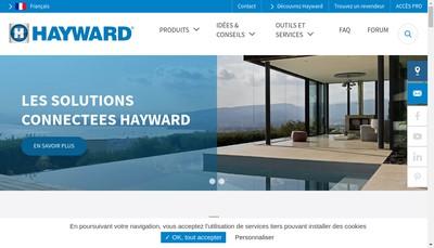 Site internet de Hayward