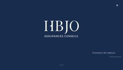 Site internet de Hbjo Assurances Conseils