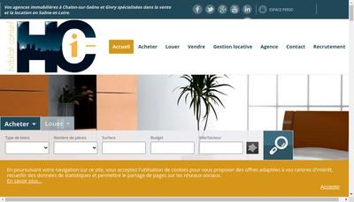 Site internet de Habitat Conseil I-Mmobilier