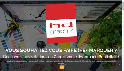 Site internet de Hd Graphix