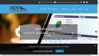 Site internet de Hdv Referencement