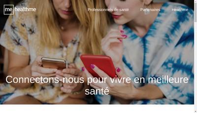 Site internet de Healthme