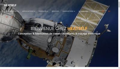 Site internet de Heatself
