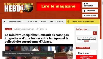 Site internet de SARL de Presse Hebdi