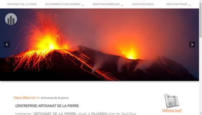 Site internet de Artisanat de la Pierre
