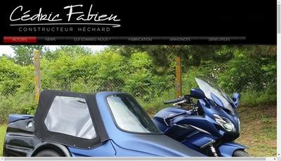 Site internet de Hechard Side Cars