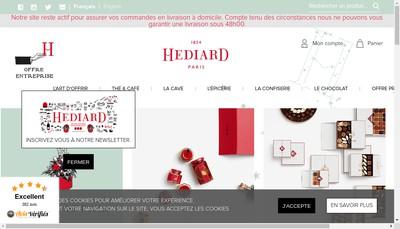 Site internet de Hediard