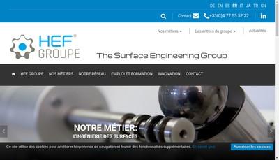 Site internet de Hef-Durferrit