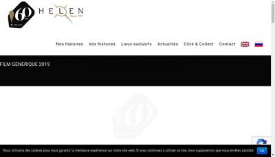 Site internet de Helen Traiteur