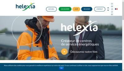 Site internet de Helexia Solar 6