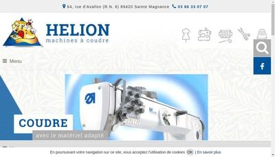 Site internet de SARL Helion