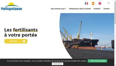 Site internet de Heliopotasse