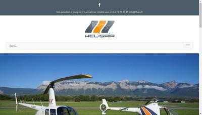 Site internet de Helis'Air