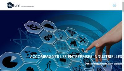 Site internet de Helium Information Management
