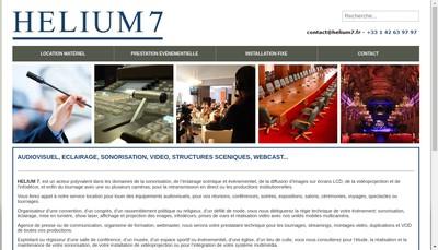 Site internet de A Helium 7-Services-Communications
