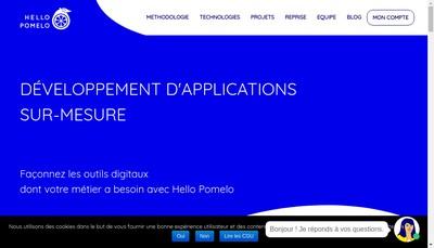 Site internet de Hello Pomelo