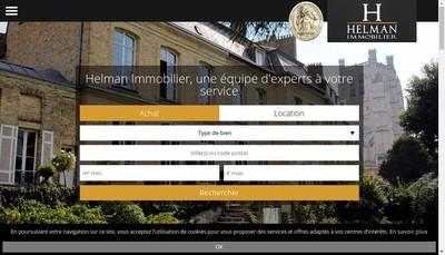 Site internet de Lumbres Immo